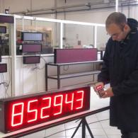 Display led pezzi prodotti interfaccia analogica 0-10V