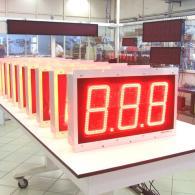 led Display 3 cifre analogico 0-10V montaggio a pannello