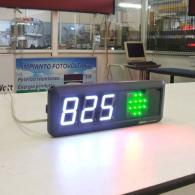 Display a led con allarme semaforo interfaccia profinet