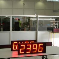 Visualizzatore a led per velocità nastriinterfaccia analogica 0-10V
