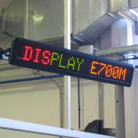 scrolling message led display, RS485 interface