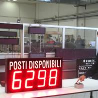 numerical led display for carousel