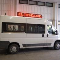 Striscia elettronica a led montato su veicolo AMA bifacciale con GPRS