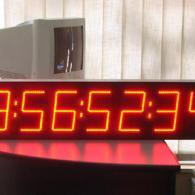 Cronometro gigante CR15-8 per industrie ore minuti secondi centesimi
