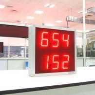 Display numerico con entrata analogica in tensione 0-10 V