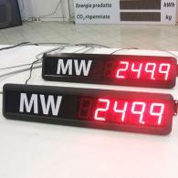 Display led TD5-51C1-BCD per visualizzazione dati consumo
