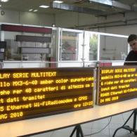 Pannelli display led multiriga MX3-6-40 per comunicazioni pubbliche