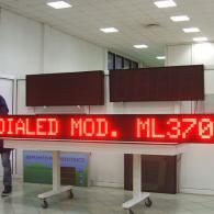 Led display rosso 370 cm con collegamento a PC tramite seriale RS485