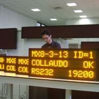 Visualizzatore elettronico alfanumerico multiriga MX8-3-13 profibus