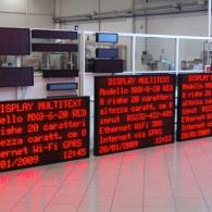 Tabellone LED profinet giganti per messaggistica aziendale