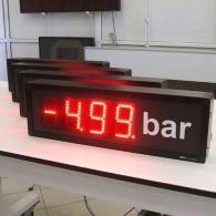 Tabellone numerico VS10-4 bar pressione ingresso binario BCH