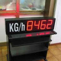 Display led 4 cifre interfaccia analogica 0-10V
