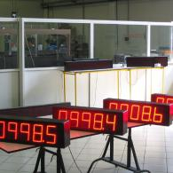 display velocità nastro interfaccia analogica 4-20mA