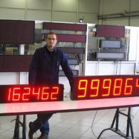 Totalizzatori VS15-6 e VS23-6 profinet per industrie. Produzione Italia