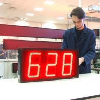 Tabellone numerico rosso Modbus RTU over UDP