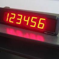 Visualizzatore numerico led da tavolo con ingresso a PC o PLC