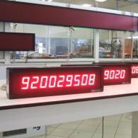 Display led numerica per industria con ingresso BCD e BCH. Produzione Italia