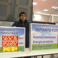 Power-Display led per impianti fotovoltaici