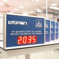 Monitor led profinet numerico ingresso BCD