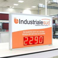 Pannello led SD-TBV10-4 4 cifre per giorni senza infortuni