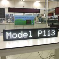 Indicatore P113B bianco per visualizzazione allarmi profinet
