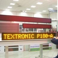 Display P180-20 giallo ambra con interfaccia Modbus RTU Slave RS485