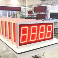led Display 4 cifre analogico 0-10V montaggio a pannello