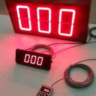 Display con tastiera numerica per chiamata turno carico-scarico automezzi