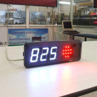 Display numerico con semaforo allarme interfaccia profinet