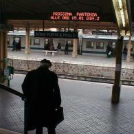Display led Stazione Piramide di Roma a 2 righe per info viabilità e treni