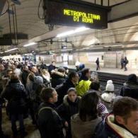 Led display per Metropolitana di Roma arrivo metro