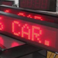 Tabellone elettronico led a 6 caratteri per visualizzazione codici magazzino